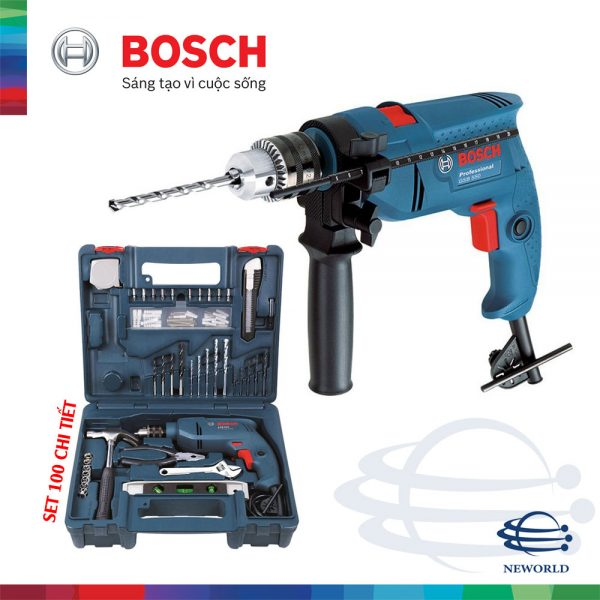 Bosch GSB 550 SET
