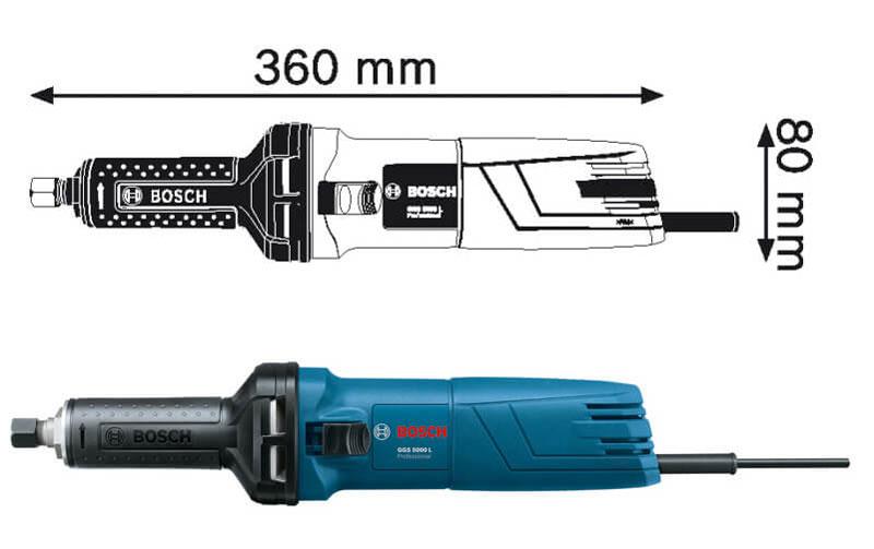 Bosch GGS 5000L 500W